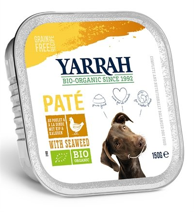 Yarrah dog alu pate kip / zeewier graanvrij