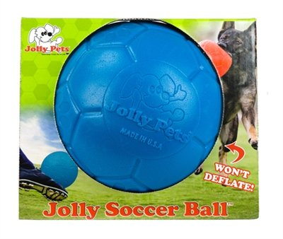Jolly soccer ball blauw