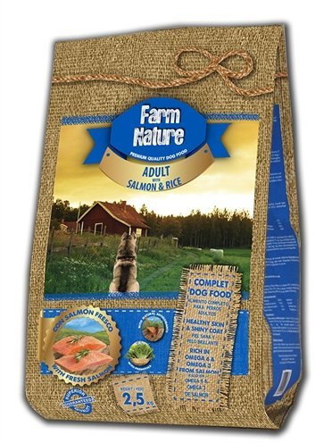 Farm nature salmon / rice
