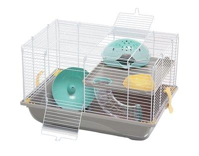 Imac hamsterkooi criceti 9 taupe / mintgroen