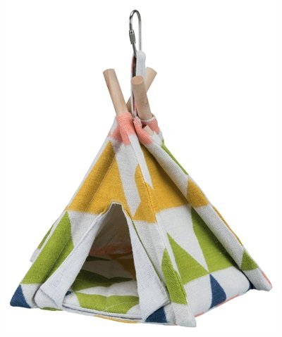 Trixie tipi tent vogel assorti