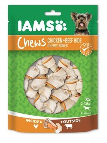 Iams chews chicken/beef hide chewy bones