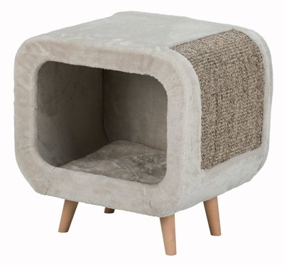 Trixie alicia relax huis lichtgrijs/grijs gemeleerd