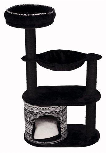Trixie krabpaal giada zwart/wit