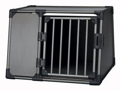 Trixie vervoersbox aluminium grafiet