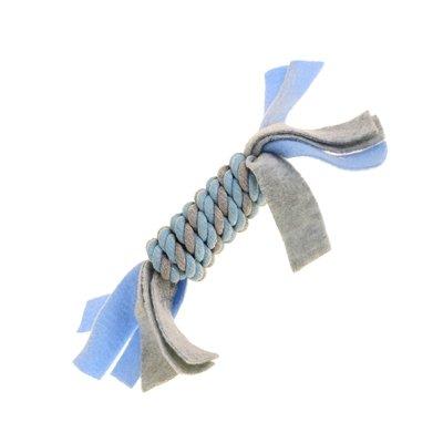 Little rascals flostouw spoel met fleece blauw