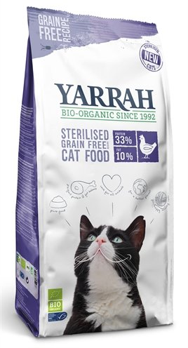 Yarrah cat sterilised grain free