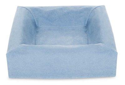 Bia bed cotton overtrek hondenmand blauw