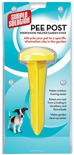 Simple solution puppy aanleg paal