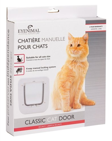 Eyenimal kattenluik classic handmatig 4 manieren