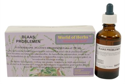 World of herbs fytotherapie blaas problemen