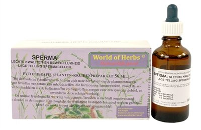 World of herbs fytotherapie sperma