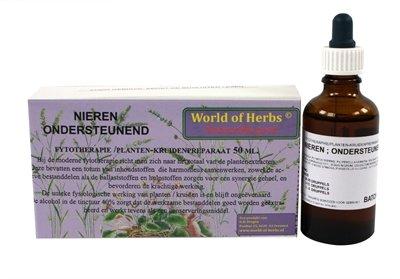 World of herbs fytotherapie nieren