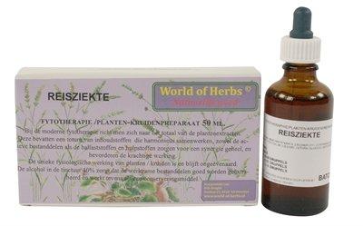 World of herbs fytotherapie reisziekte