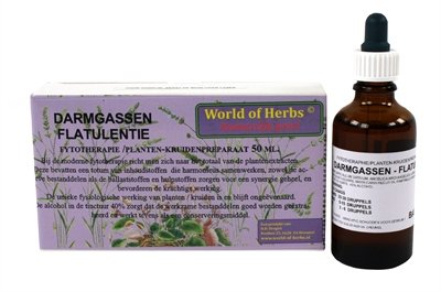 World of herbs fytotherapie darmgassen flatulentie
