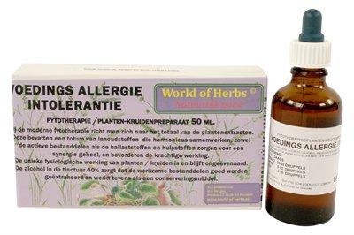 World of herbs fytotherapie voedingsallergie / intolerantie