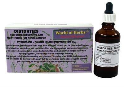 World of herbs fytotherapie distorties