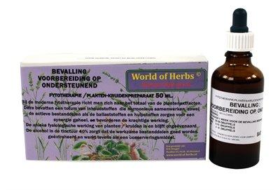 World of herbs fytotherapie voorbereiding op bevalling