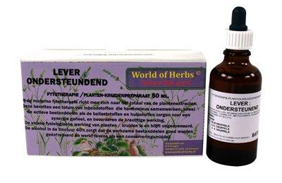 World of herbs fytotherapie lever