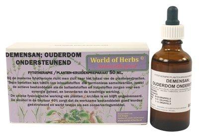 World of herbs fytotherapie demensan ouderdom