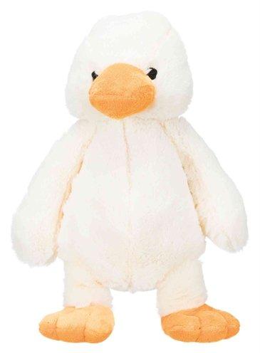 Trixie pluche eend wit
