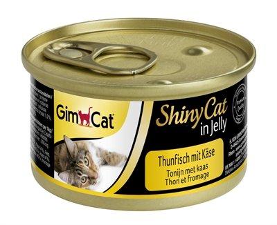 Gimcat shinycat in jelly tonijn / kaas