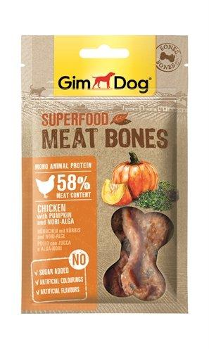 Gimdog superfood meat bones kip / pompoen / nori algen