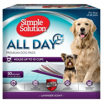 Simple solution all day premium dog pads