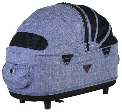 Airbuggy reismand hondenbuggy dome2 m cot gemeleerd denim