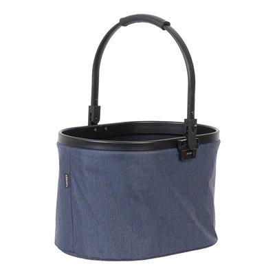Airbuggy multi basket hondenbuggy texture denim