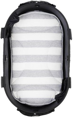 Airbuggy mat voor dome2 m streep grijs / wit