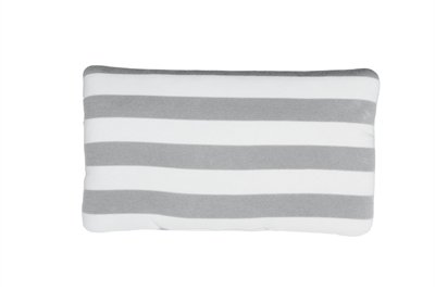 Airbuggy hoofdsteun kussen carriage streep grijs / wit