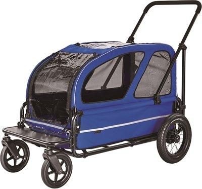 Airbuggy hondenbuggy carriage royal blauw