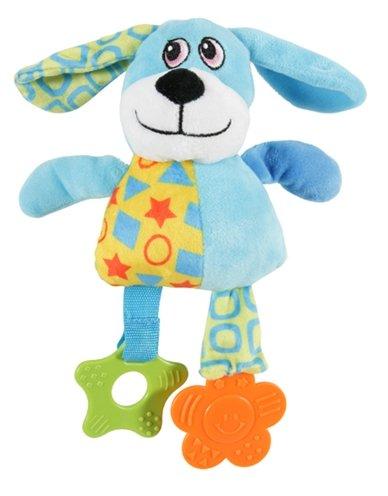 Zolux puppy plush hond blauw