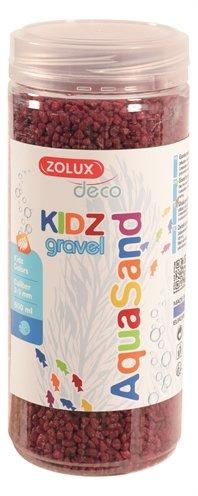 Zolux aquasand kidz gravel grind rood