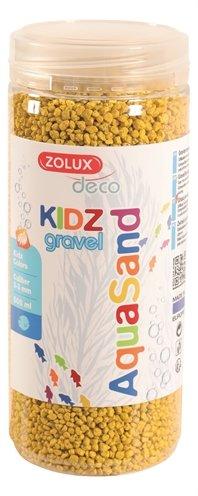Zolux aquasand kidz gravel grind geel