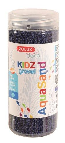 Zolux aquasand kidz gravel grind blauw