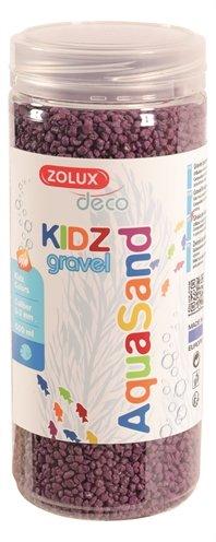 Zolux aquasand kidz gravel grind paars
