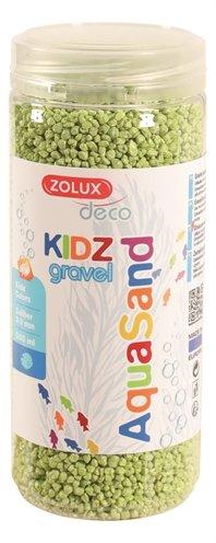 Zolux aquasand kidz gravel grind groen