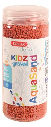Zolux aquasand kidz gravel grind oranje
