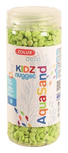 Zolux aquasand kidz nugget grind groen