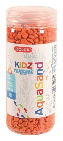Zolux aquasand kidz nugget grind oranje