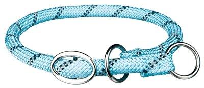 Trixie halsband hond sporty rope lichtblauw