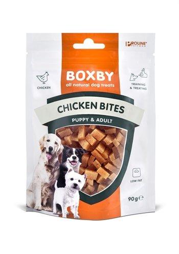 Proline dog boxby chicken bites chicken / fish