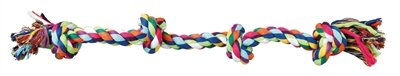 Trixie flostouw 4-knoop multicolor