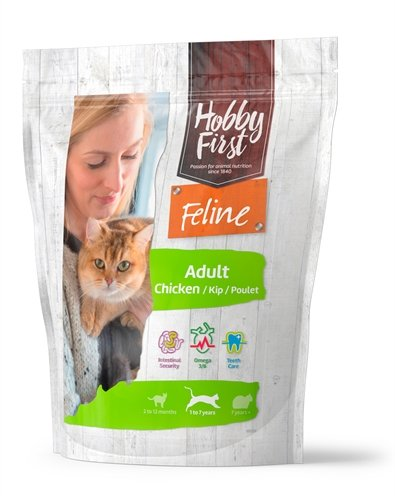 Hobbyfirst feline adult chicken