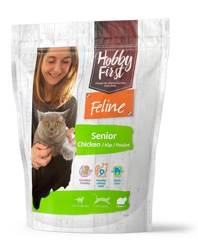 Hobbyfirst feline senior chicken