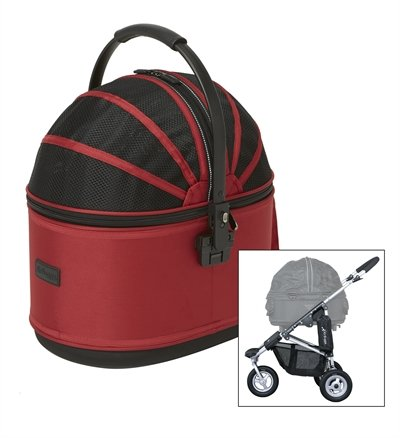Airbuggy hondenbuggy cot s plus rood