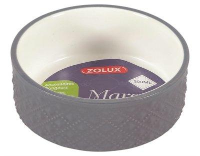 Zolux voerbak knaagdier margot grijs