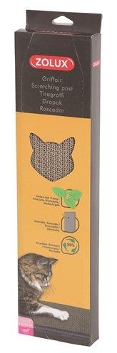 Zolux krabplank karton met catnip